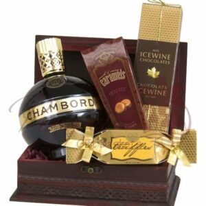 A Taste of Royalty Liqueur Gift Basket
