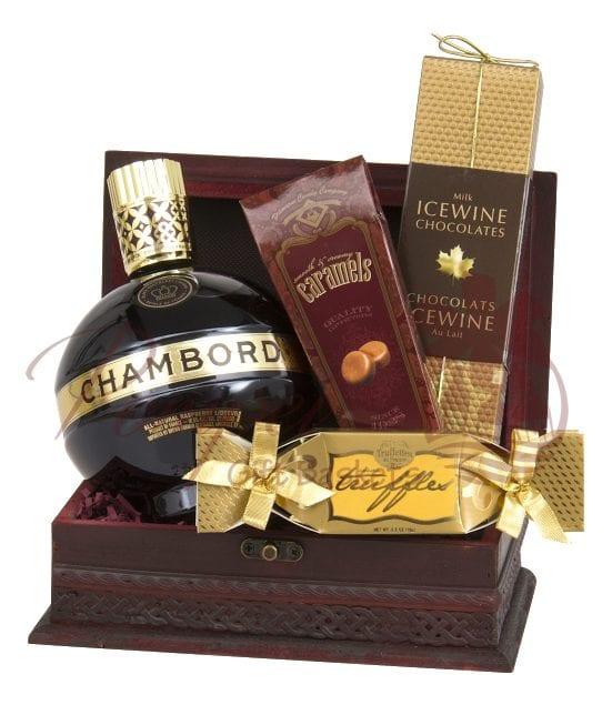 A Taste of Royalty Liqueur Gift Basket