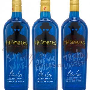 Blue Ice Vodka Heisenberg Limited Edition Trio