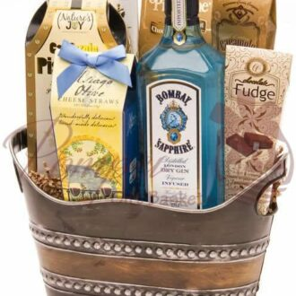 Bombay Blues Gin Gift Basket