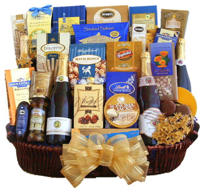Grand gourmet extravaganza gourmet gift basket by pompei baskets grand gourmet extravaganza gourmet gift basket negle Images