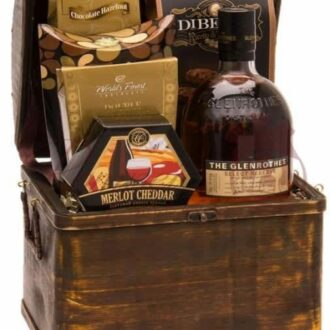 Perfect Cask Scotch Gift Basket