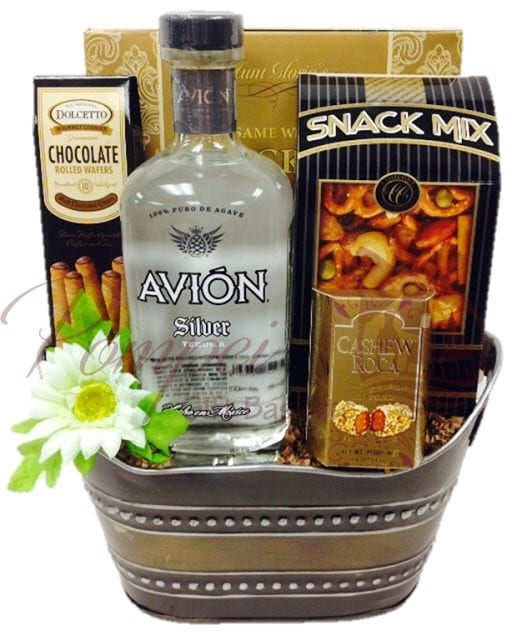 Tempting Tequila Gift Basket