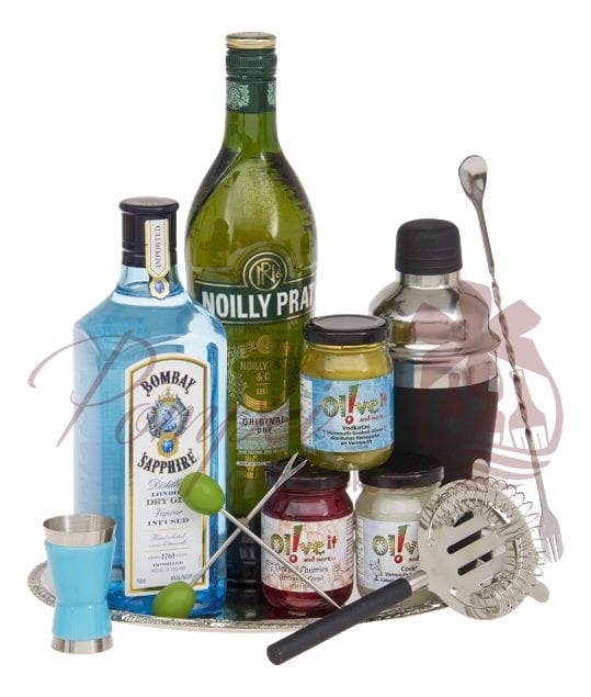 The Great Gintini Gin Gift Basket