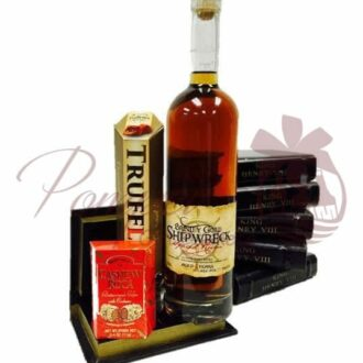 The Secret Treasure Rum Gift Basket