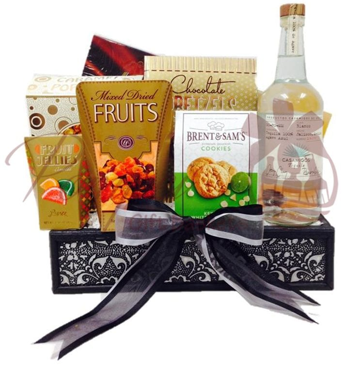 House of Friends Tequila Gift Basket