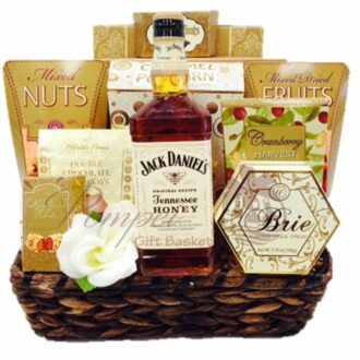 Sweeter than Honey Whiskey Gift Basket