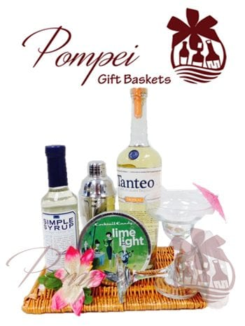 Tropical Tequila Cocktail Gift Basket, Tequila Gift Basket, Cocktail Gift Basket, Tequila Gift Baskets, Cocktail Gift Baskets