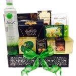Green with Envy Vodka Gift Basket