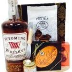 Wyoming Whiskey Gift Basket