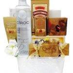 Wedding Wishes Vodka Gift Basket