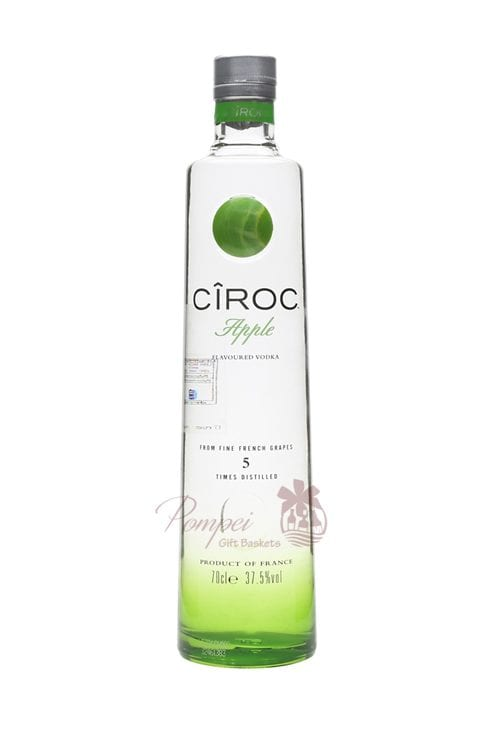 Ciroc Apple Vodka, Ciroc Vodka Apple, Ciroc Vodka, Engraved Ciroc, Personalized Ciroc