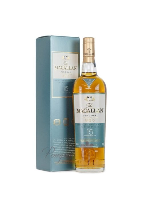 Macallan 15 Fine Oak Cask Single Malt Scotch, Macallan 15 year, macallan fine oak 15 year, Macallan single malt, Macallan Scotch, Engraved Macallan, Personalized Macallan, Customized Macallan, Macallan 15, 15 Year old macallan, 15 Year Old Macallan Single Malt, Single Malt Macallan, Fine Oak 12 Year Macallan, Fine Oak Single Malt Macallan