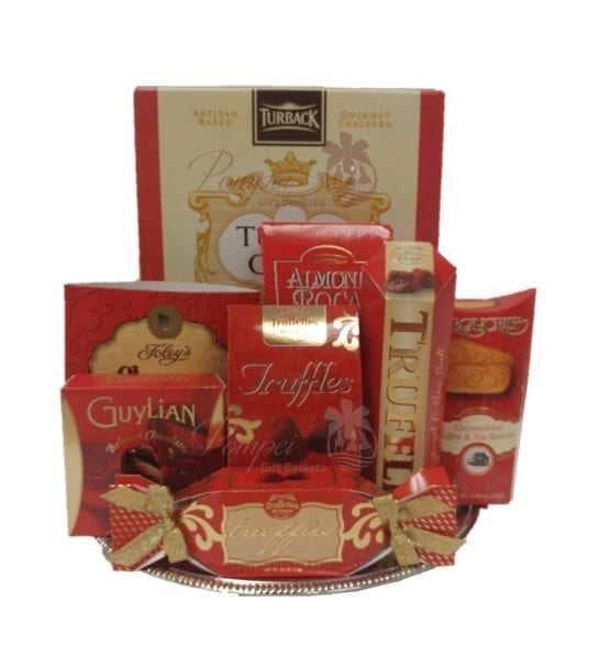 You Red my Mind Gourmet Gift Basket Gift Baskets NJ NJ Food Baskets  sc 1 st  Pompei Gift Baskets & You Red my Mind Gourmet Gift Basket by Pompei Baskets