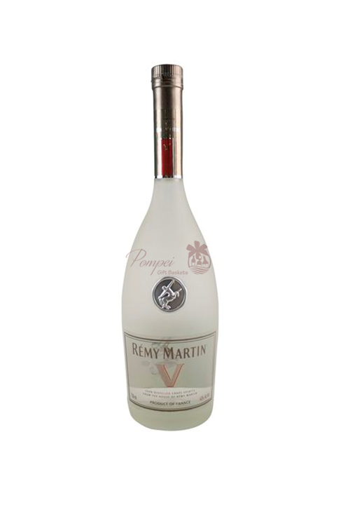 Remy Martin White V Cognac ENGRAVED From Pompei Baskets