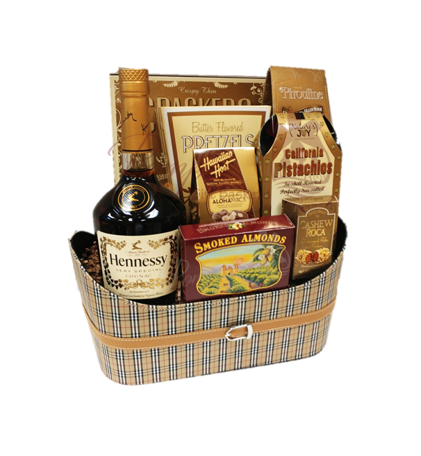 Hennything is Possible Cognac Gift Basket