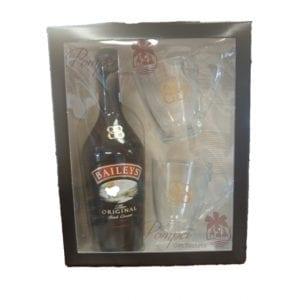 Baileys Irish Cream, Baileys Irish Cream Liqueur Gift Set, Baileys Gift Set, Baileys Holiday Gift 2016, Baileys with mugs, Baileys Gifts