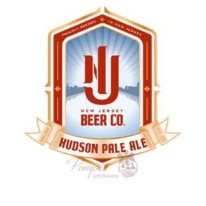 New Jersey Beer Co. Hudson Pale Ale, NJ Hudson County, Hudson County Beer, NJ Ale, Beer from NJ, Custom Beer Baskets, Create your own Beer Basket