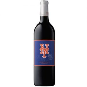 New York Mets Club Series Cabernet Sauvignon, NY Mets Wine, New York Mets Wine, MLB Wine, Mets Wine, Mets Collectible Wine Bottle, Baseball Wine, NYM Wine