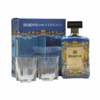 Disaronno wears Versace Gift Set, Disaronno wears Versace Glass Set, Disaronno wears Versace, Disaronno Gift Set, Disaronno Amaretto Set, Disaronno Gifts,
