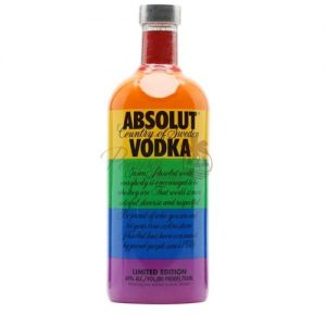 Absolut Colors, Absolut LGBT, LGBT Vodka, LGBT Liquor, Rainbow Absolut, Rainbow Flag Liquor, Gay Pride Absolut, LGBT Supporting Companies