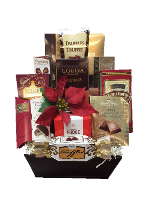 Chocolate heavens gourmet gift basket pompei gift baskets chocolate heavens gourmet gift basket chocolate baskets nj chocolate gifts nj chocolate gift negle Choice Image