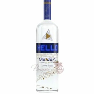 Medea Vodka, LED Light up Vodka, Message Vodka, Vodka with a Scroll, High Tech Vodka, Nerdy Gifts, Unique Vodka, Send Medea Vodka, Order Medea Vodka