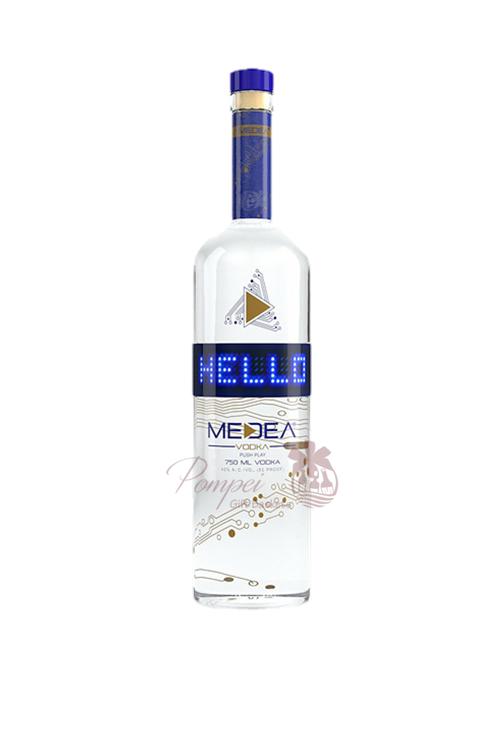 Medea Vodka Led Bottle From Pompei Baskets