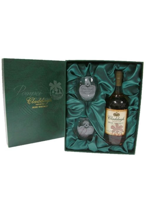 Claddagh Irish Whiskey Gift Set from