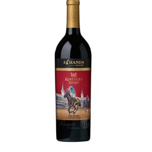14 Hands Kentucky Derby Red Blend, 14 Hands Limited Release Kentucky Derby Red Blend Wine, Kentucky Derby Red Wine, Wine for the Kentucky Derby, 14 Hands Kentucky Derby Wine, Kentucky Derby Wine