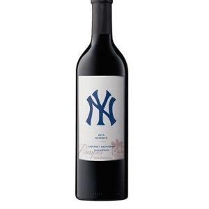 New York Yankees Cabernet Sauvignon Reserve, NY Yankees Wine, NY Yankee Cabernet, Engraved NY Yankee Wine, MLB Wine, Baseball Team Wine