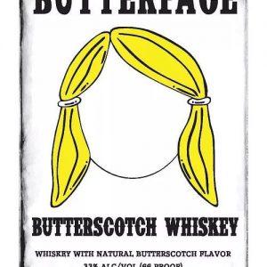 Butterface Butterscotch Whiskey, Novelty Whiskey, Flavored Whiskey, NJ Whiskey, NJ Spirits,