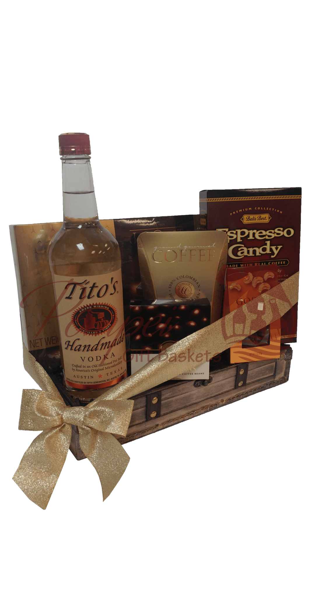 The perfect titos vodka gift basket by pompei baskets the perfect titos vodka gift basket titos gift basket titos vodka gift basket negle Image collections