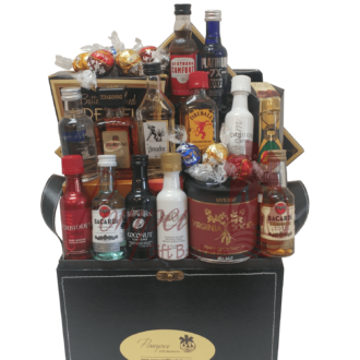 Super Sampler Mini Bar Gift Basket, Mini Bar Basket, 50ml Gift Basket, Nips Gift Basket, Airplane Bottle Gift Basket, Airline Bottle Gift Basket, Mini Liquor Gift Basket, 21st Birthday Gifts NJ, 21st Birthday Basket