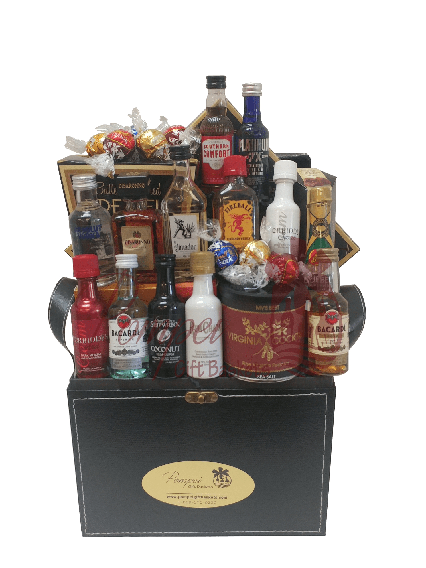 Super Sampler Mini Bar Gift Basket 50ml Nips