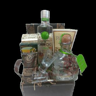 Give Me the Green Light Liquor Gift Basket, Liquor Gift Basket, Patron Gift Basket, Ciroc Gift basket, Vodka Gift Basket, Tequila Gift Basket