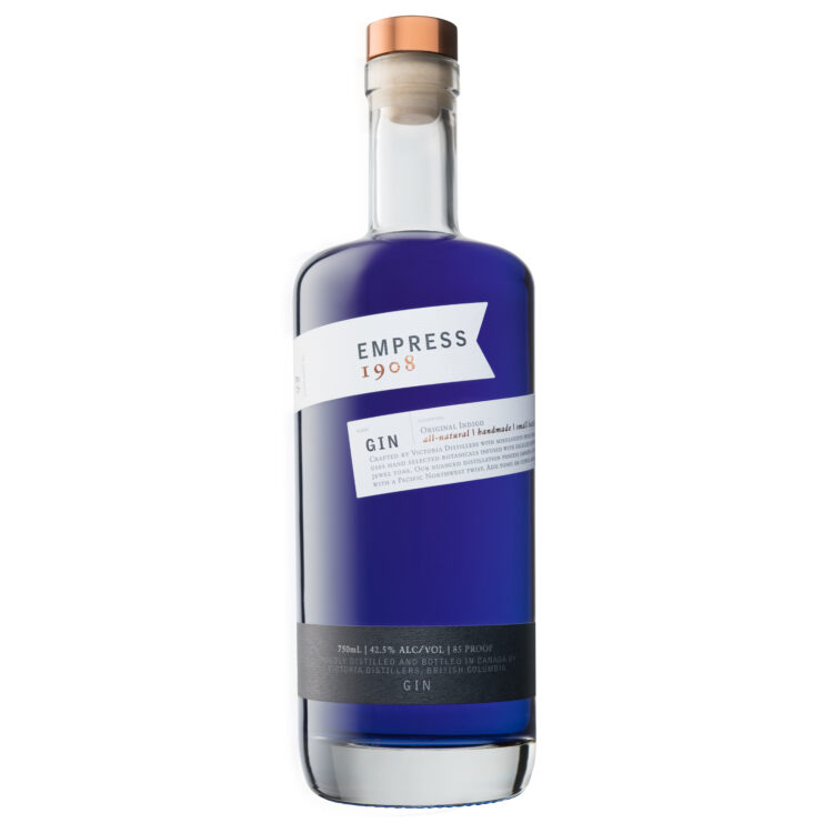 Empress 1908 Original Indigo Gin, Purple Gin, Unique Gin, Empress 1908 Gin, Gin Gift Basket, Indigo Gin, Canadian Gin, Color Changing Liquor, Color Changing Gin