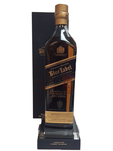 JWB 1.75L, engraved gifts nj, engraved jwb, engraved magnum johnnie walker blue, magnum jwb engraved