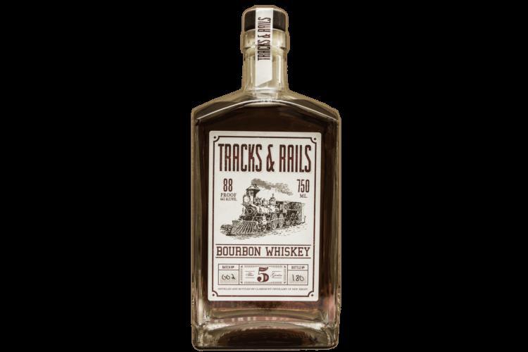 Claremont Distillery Tracks & Rails Bourbon Whiskey, Tracks and Rails Bourbon, Tracks and Rails Whiskey, Where to order Claremont Liquor, Claremont Distillery, Buy Claremont Bourbon Whiskey Online, New Jersey Gift basket