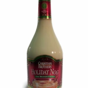 Christian Brothers Holiday Nog, Christian Brothers Holiday Egg Nog, Engraved Egg Nog, Engraved Holiday Liquor, Engraved Holiday Nog