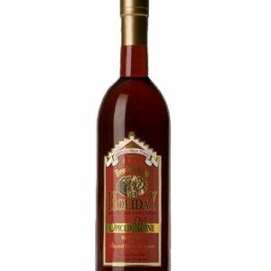 Brotherhood Holiday Spiced Wine, Holiday Wine, Christmas Wine, Spiced Wine, Engraved Holiday Wine
