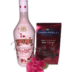 Be My Valentine Liqueur Gift Set, Valentines Day Gifts, Engraved Valentines Gifts, Baileys Gift Set, New Flavor Baileys