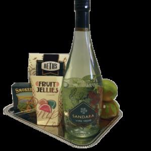 Tropical Treat Wine Gift Basket, Sandara Mojito Wine Delivered, Where to buy Sandara Mojito Wine Online, Order Sandara Mojito Wine, Sandara Mojito White Wine Cocktail, Mojito Wine, Mojito Gift Basket, Wine Gift Basket