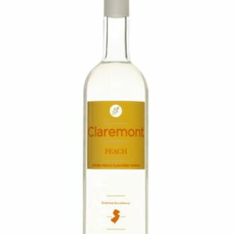 Claremont Peach Potato Vodka, New Jersey Vodka, Gluten Free Vodka, Claremont Distillery, Where to buy Claremont Vodka, Gluten Free Peach Vodka, Vodka from New Jersey