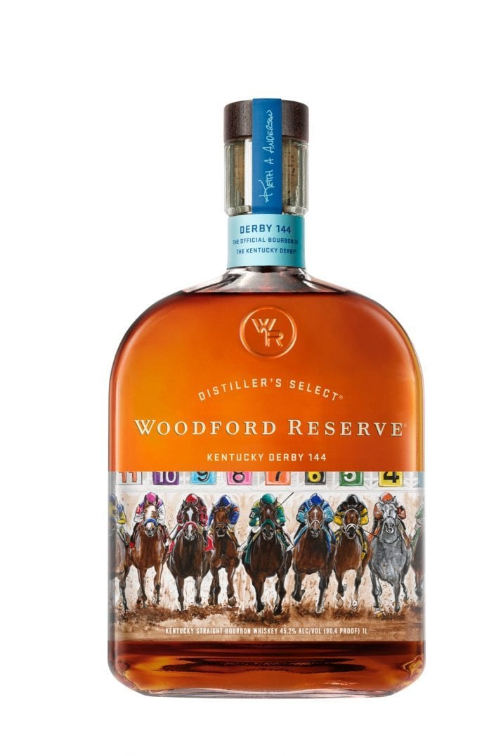 Woodford Reserve 2018 Derby Edition, Woodford Derby, Woodford Reserve Kentucky Derby 144, Limited Edition Woodford, Kentucky Derby Woodford, Woodford Reserve 144