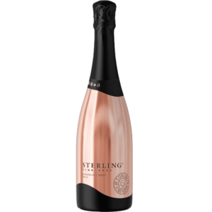 Sterling Vineyards Sparkling Rose, Sterling Pink Bottle, Sterling Sparkling Wine, Sterling Champagne, Engraved Sterling Wine