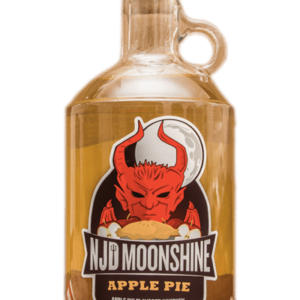 Claremont NJD Apple Pie Moonshine, new Jersey Moonshine, Weird NJ Liquor, Weird NJ Magazine, NJ Moonshine, New Jersey Devil Moonshine, Jersey Devil Moonshine, Apple Pie Moonshine, Dessert Liquor
