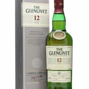 Glenlivet 12 Year Single Malt Scotch, Engraved Glenlivet, Glenlivet Gift Basket, Glenlivet Gift Set,