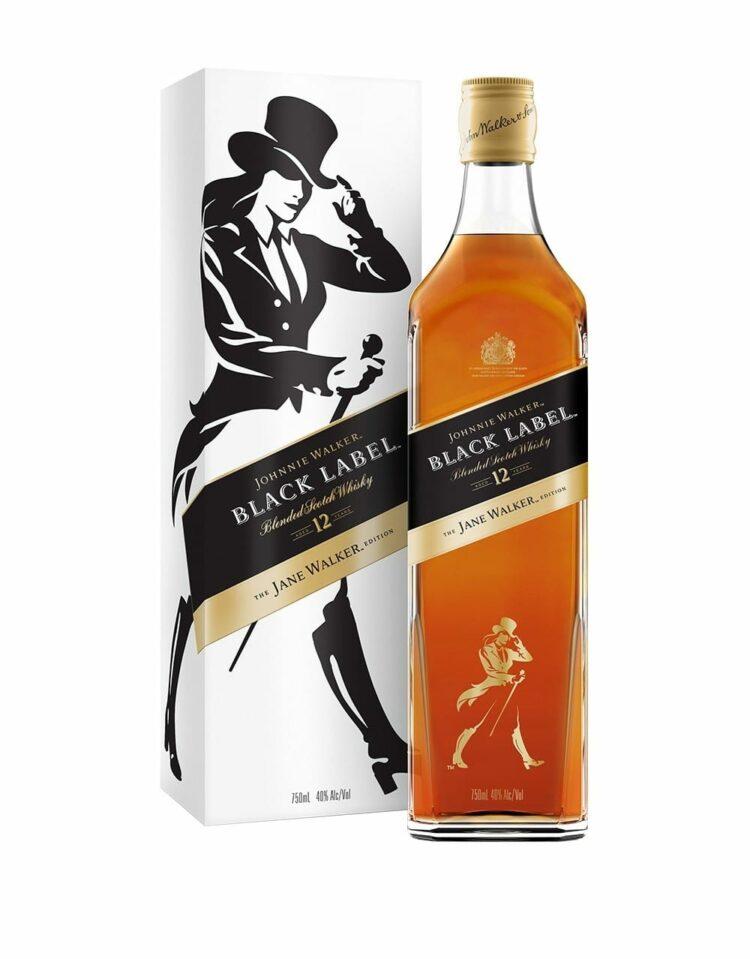 Johnnie Walker Black Label Limited Jane Walker Edition, Johnnie Walker Jane, Jane Walker Whiskey, Limited Edition Johnnie Walker, Female Johnnie Walker,