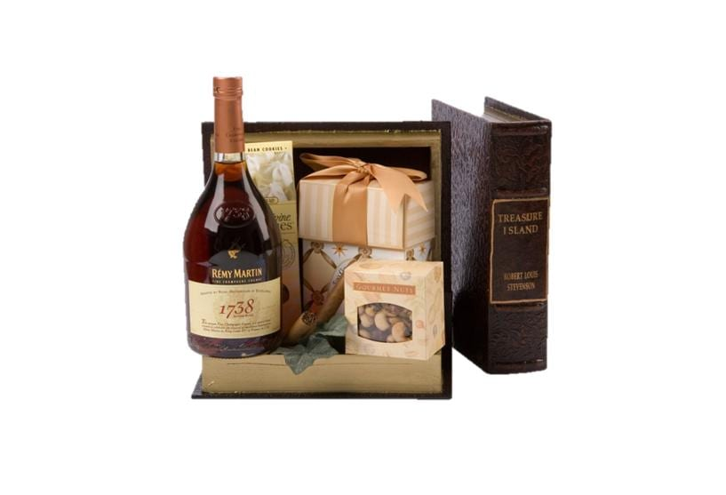 Chapter 1738 Cognac Gift Basket, remy 1738 gift basket, engraved remy 1738, remy